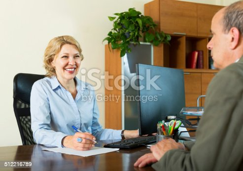 584597964 istock photo man talking with a social worker 512216789