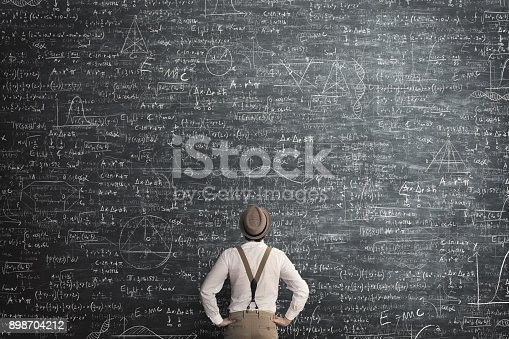909927050 istock photo man think how to solve the problem 898704212