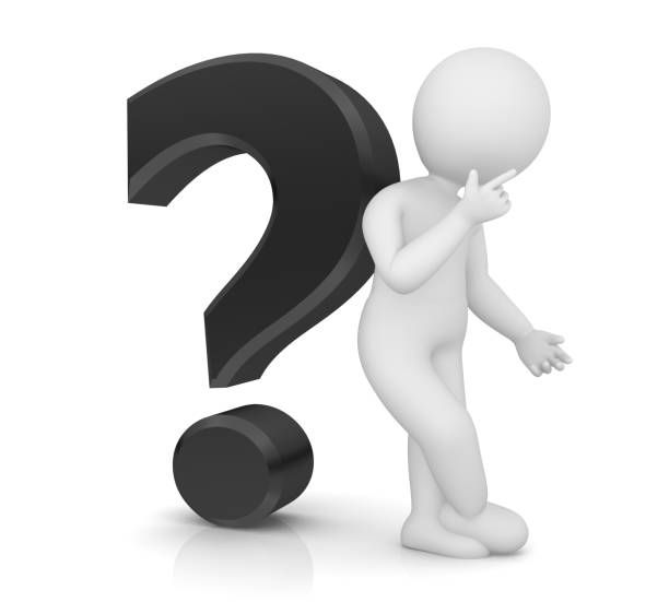 best stick figure question mark people asking stock photos