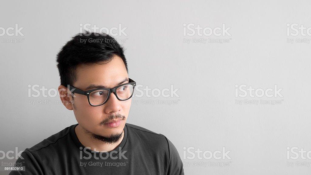 Man thinking of plan. ストックフォト