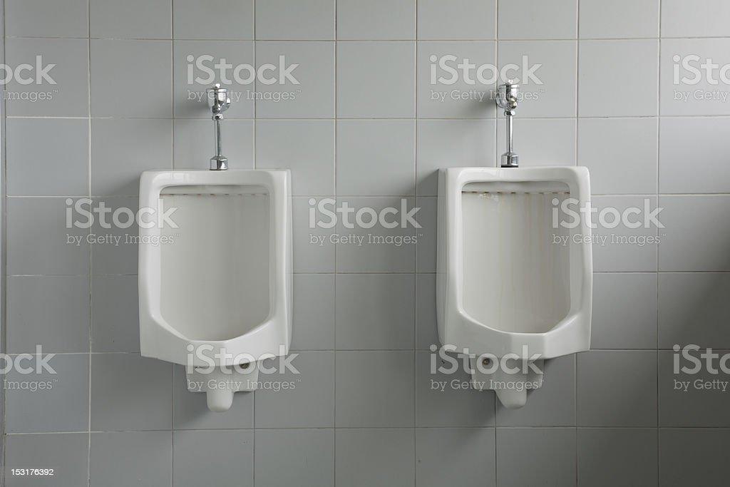 Man Toilet stock photo