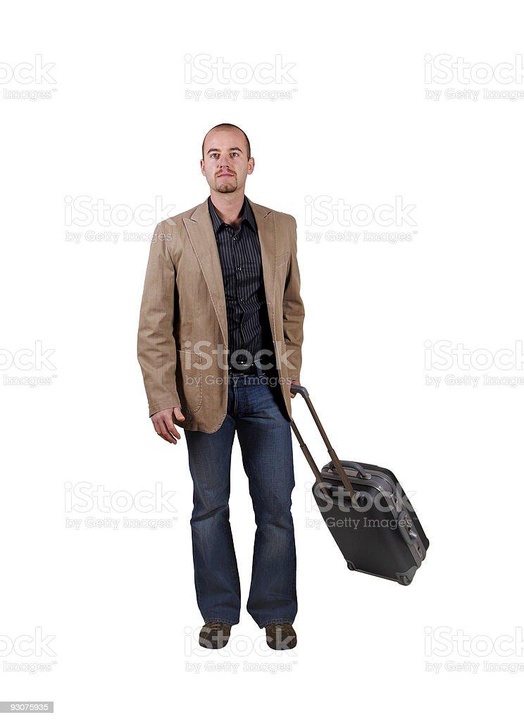 man travel royalty-free stock photo