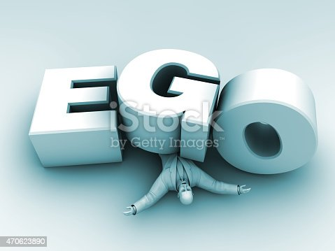 Business world is full of human ego. Ego is an overwhelming factor for people value.