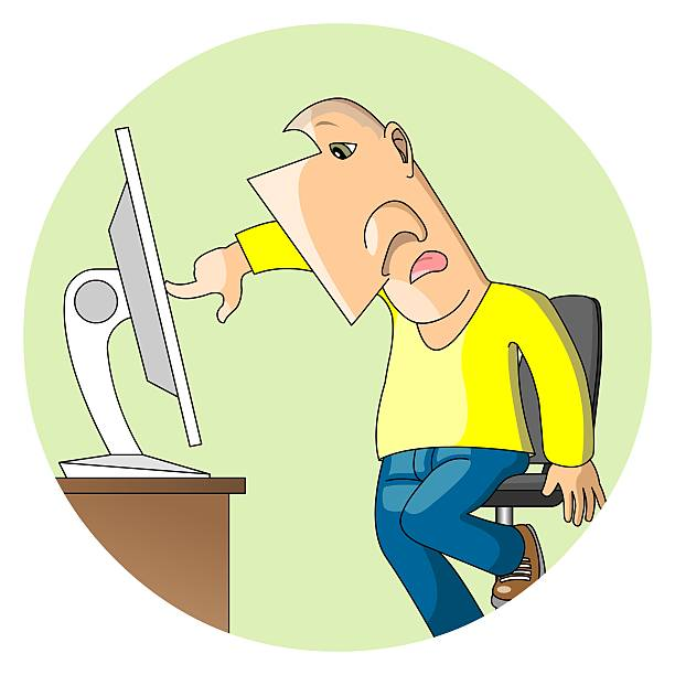 Top Cartoon Of A Computer Programmer Stock Photos Pictures And