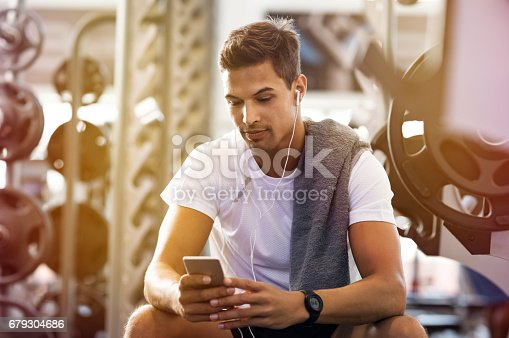 istock Man using mobile phone 679304686