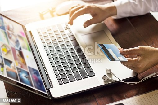 629776586 istock photo Man using payments online shopping on network connection 638136510