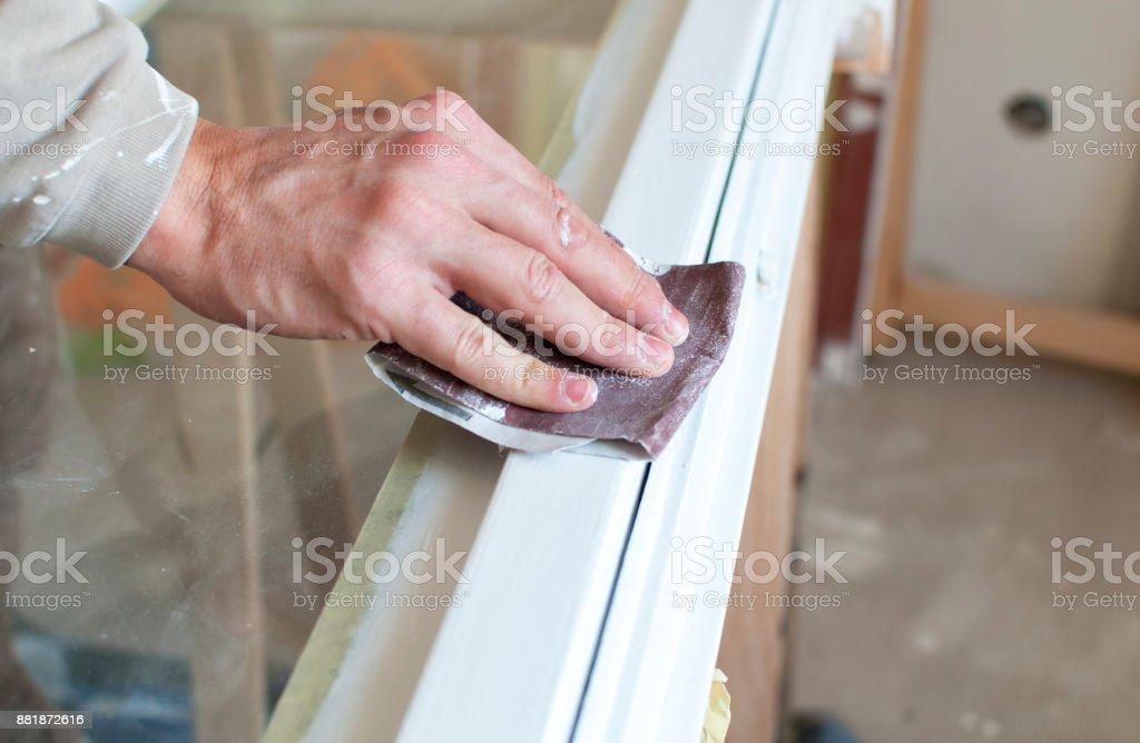 Großartig Wie Fliegen Zucht In Fensterrahmen Zu Stoppen Bilder ...