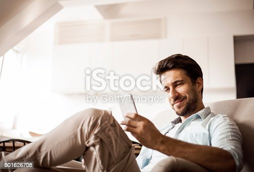 istock Man using smart phone 501626708