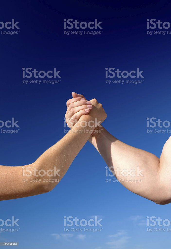 Man vs woman royalty-free stock photo