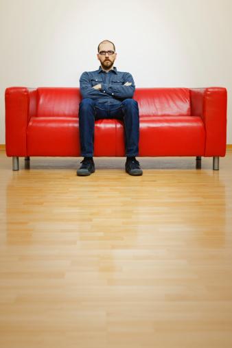 Man Waiting Stock Photo - Download Image Now