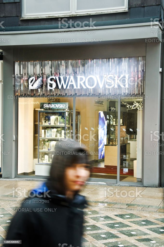 best value wholesale crazy price A Man Walking Past A Luxury Jewellery Shop In A Dortmund ...