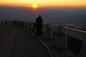 istock man watching sunrise 1146922773