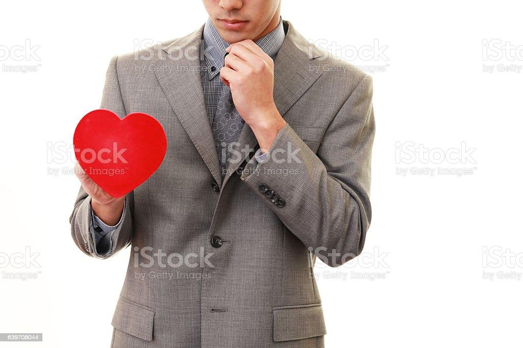 Man who heartbreak - 1人のロイヤリティフリーストックフォト
