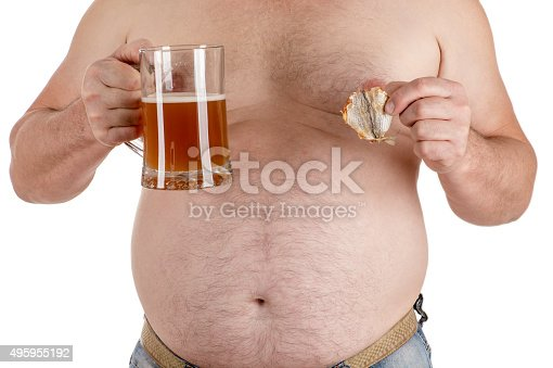 istock man with a big belly with beer in hand 495955192