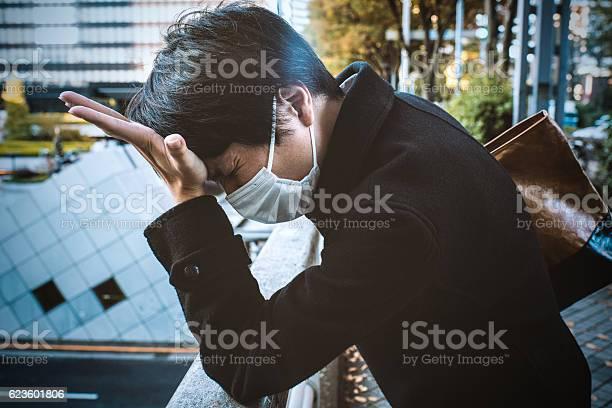 Man with a mask feeling bad picture id623601806?b=1&k=6&m=623601806&s=612x612&h=xwmprypskas5ayjijgejhvhnp3jgdrwfaaovnc37dnm=