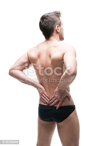 537234318istockphoto Man with backache 513235340