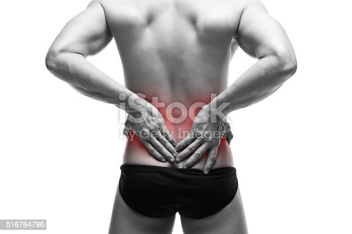 istock Man with backache 516764796