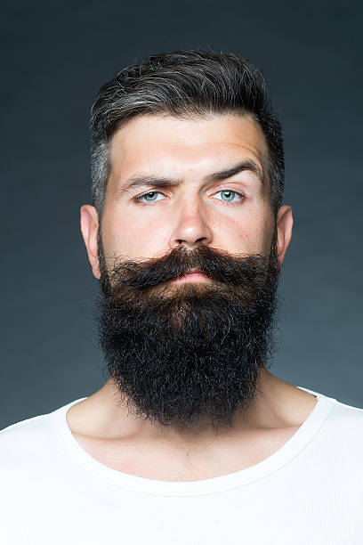 man with beard - beard stock pictures, royalty-free photos & images