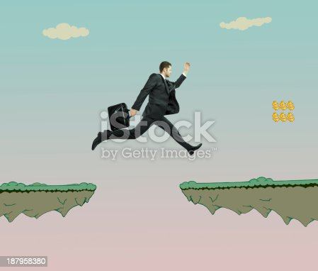 istock man with briefcase jumping 187958380