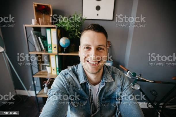Man with bright smile looking at camera picture id690146446?b=1&k=6&m=690146446&s=612x612&h=nqevwyyow5isqzabini9f knb2d9psmrhmjt81c jzg=