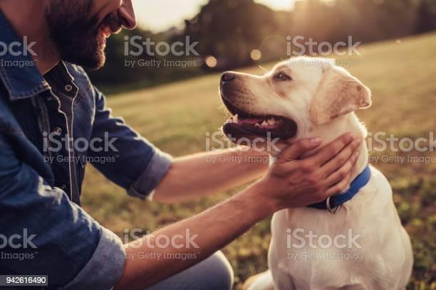Man with dog picture id942616490?b=1&k=6&m=942616490&s=612x612&h=2pbvpgoz3bqldtxrbclua0aol2sr0a isc4qz  4tju=