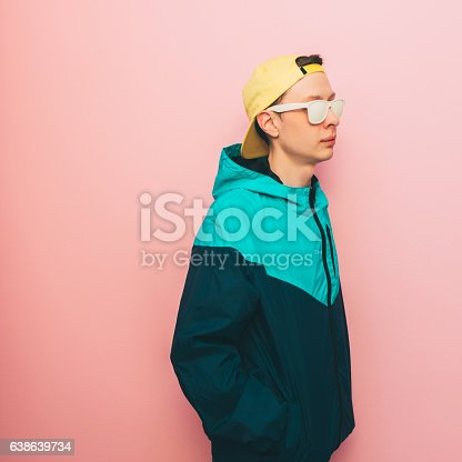 istock man with glasses and cap 638639734
