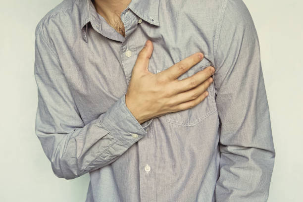 Mann mit Herzinfarkt – Foto