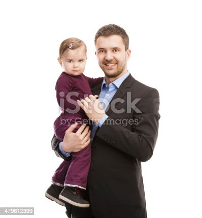 istock Man with his baby 479612399