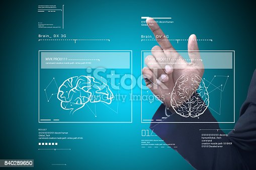 istock Man with medical concept 840289650