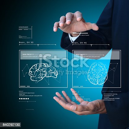 istock Man with medical concept 840292130