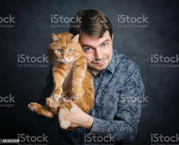 Man with red cat picture id481842028?b=1&k=6&m=481842028&s=612x612&h=kirfn9oxsgv2mmmxyfdxxsv0vzwlctp8p14eb1lnsby=