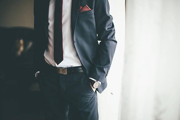 Homem com estilo - foto de acervo