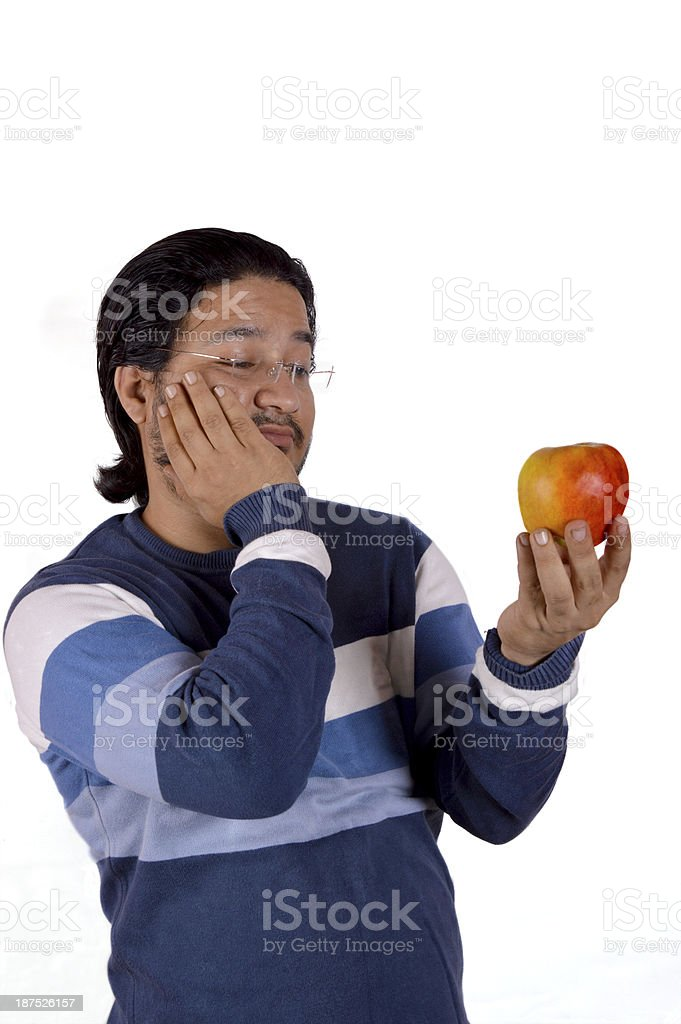 Man With Toothache stock photo