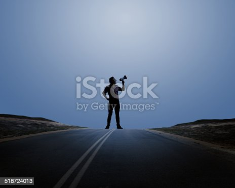 istock Man with trumpet 518724013
