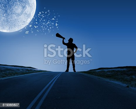 istock Man with trumpet 519385807