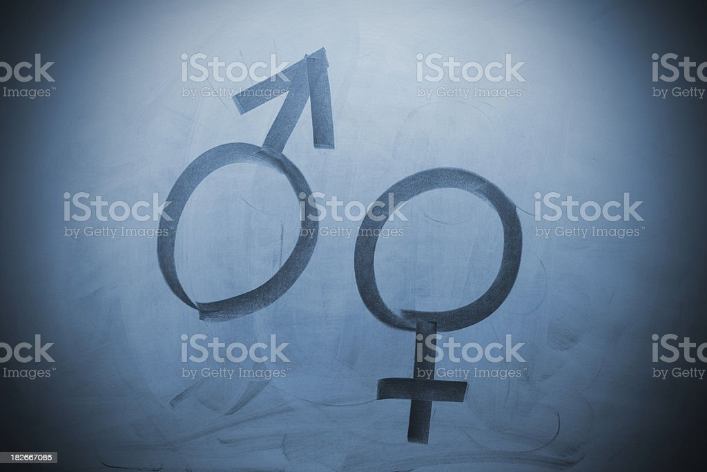 Man / Woman royalty-free stock photo