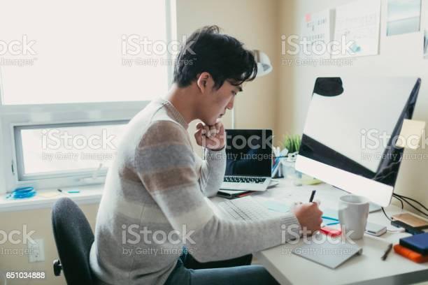 Man working at his desk picture id651034888?b=1&k=6&m=651034888&s=612x612&h=jp6rht5pbb7f8sdcs9wwbpcyrxkd7shu00tagqky5wu=