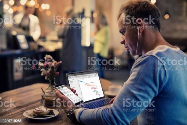 Man working in cafe picture id1049719066?b=1&k=6&m=1049719066&s=612x612&h=p3zf5cjozaqgi1lwy39hm8rdkh1uacy1qfep9regxta=