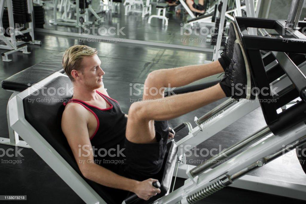 Entrenamiento duro en el gym