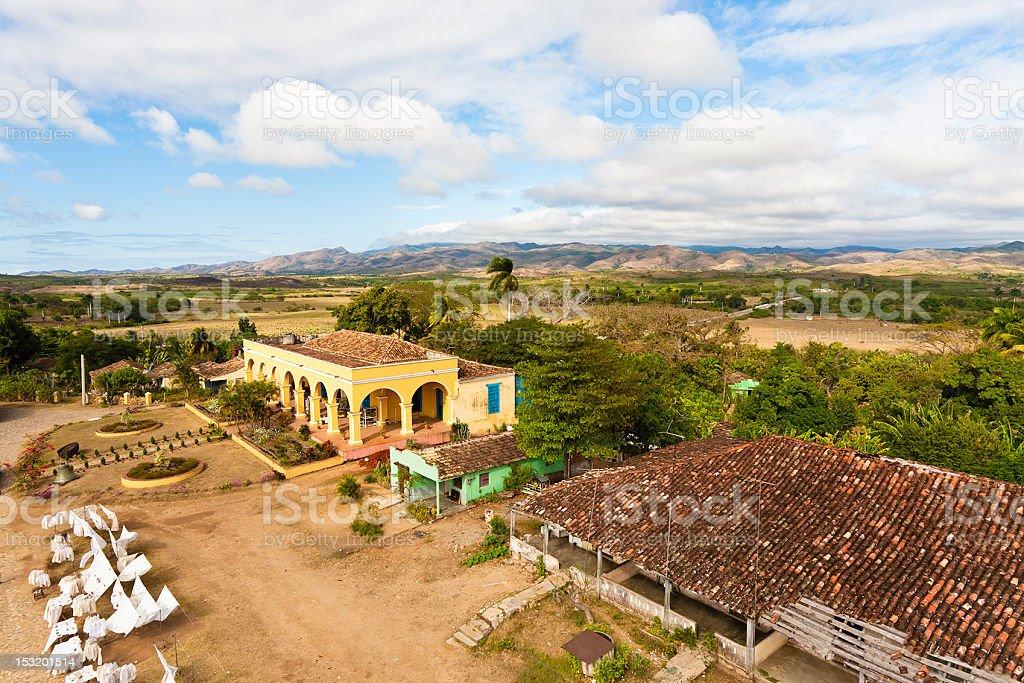 Manaca Iznaga, Valle de los Ingenios, Cuba royalty-free stock photo