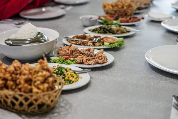 Manadonese Food Creative Image manado stock pictures, royalty-free photos & images