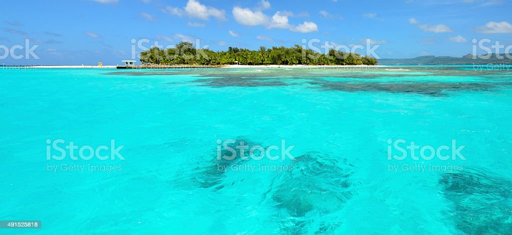 Managaha's coral stock photo