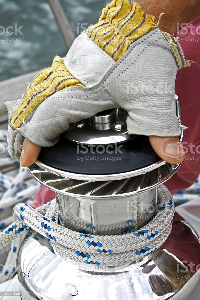 manage your boat royalty-free stock photo