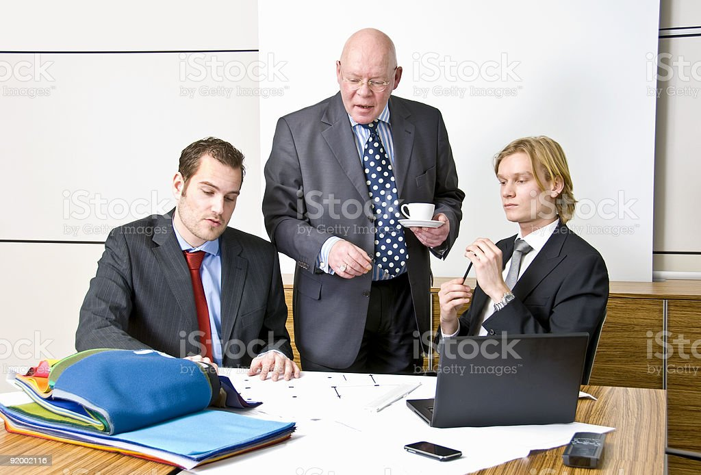 Management Meeting royalty-free stock photo