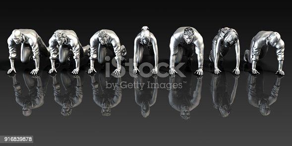 istock Management Solution Abstract 916839878