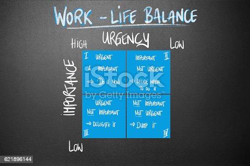 istock Management - Work-Life Balance 621896144