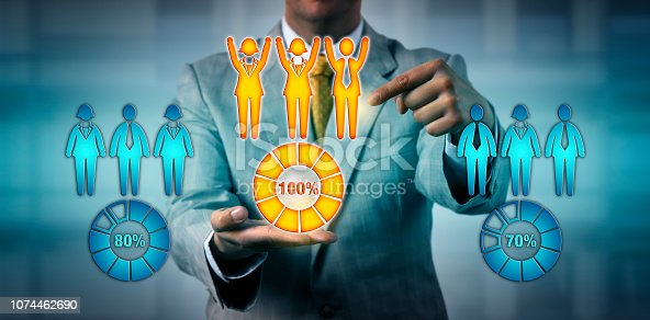 istock HR Manager Choosing The Top Performing Work Team 1074462690
