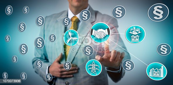 istock Manager Closing ESS Deal For Wind Power Storage 1070073936