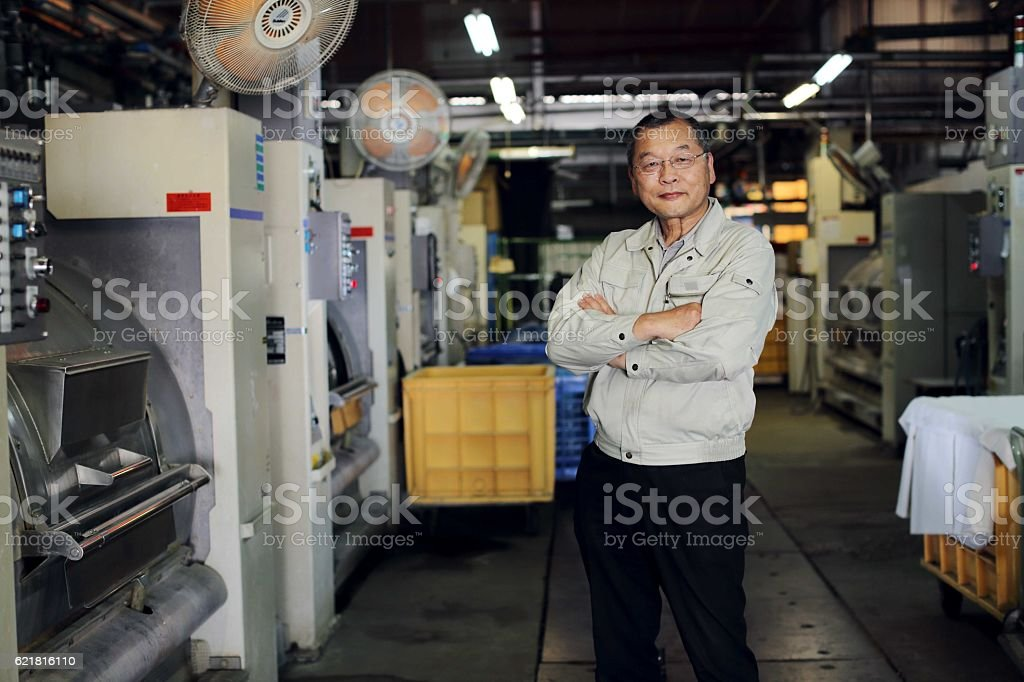 Manager of a factory full of confidence - Photo