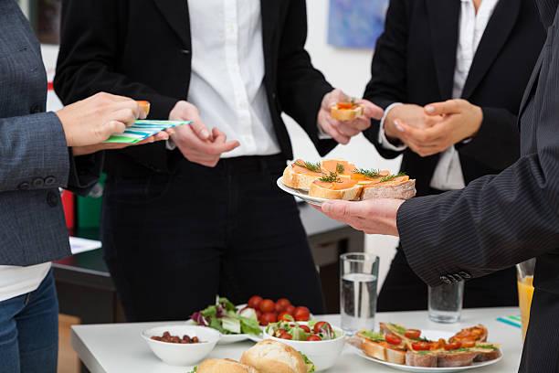 Responsables de réunion pour le petit déjeuner - Photo